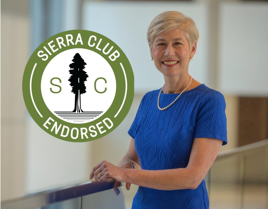 Sierra Club endorses Deborah Ross.